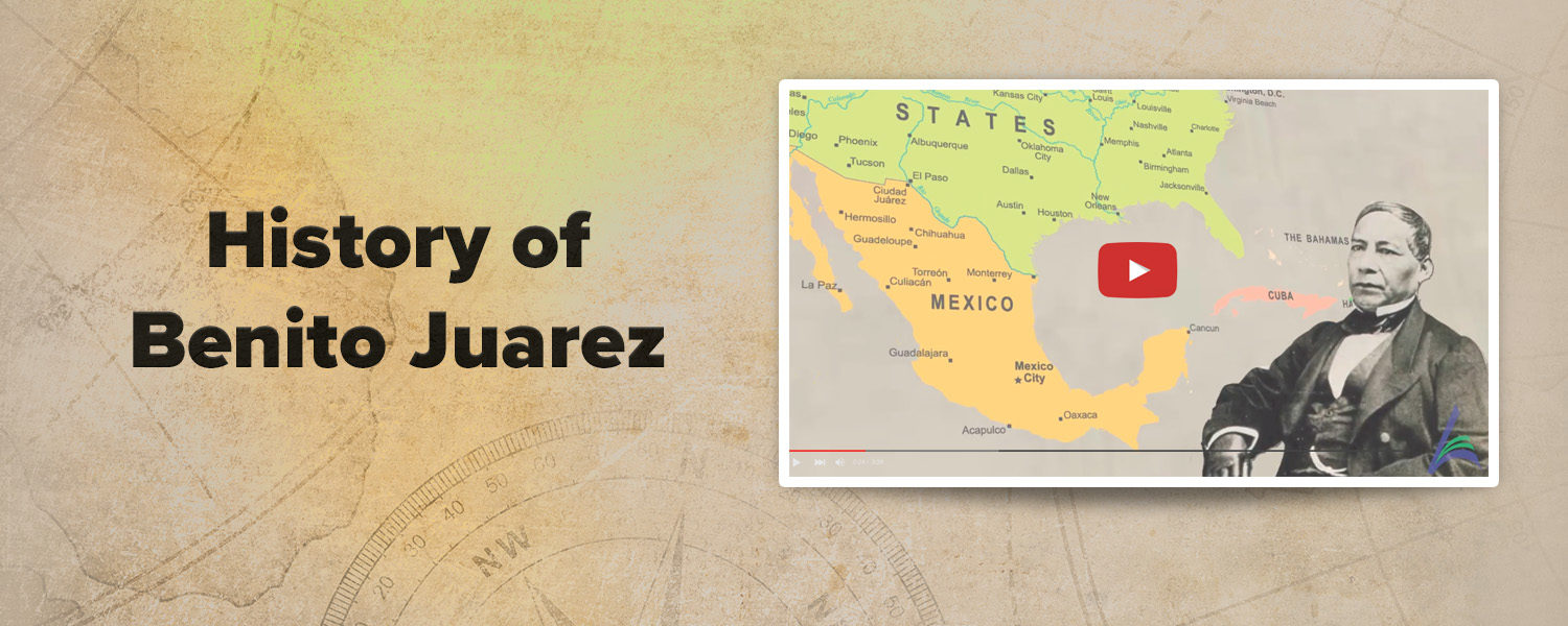 Click to watch History of Benito Juarez video