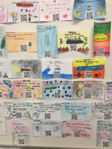 Students wall of Art