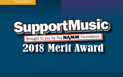 SupportMusic Merit Award