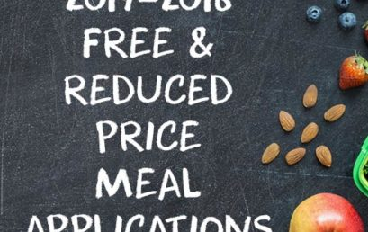 2017-2018 Free & Reduced Price Meal Application
