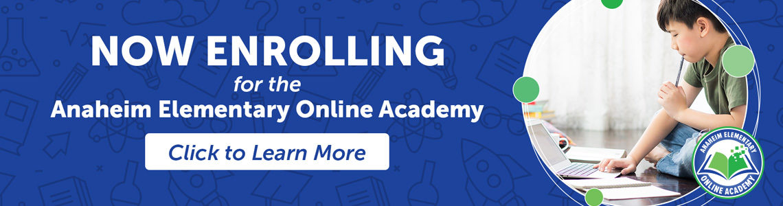 Click to learn more about Anaheim Elementary Online Academy